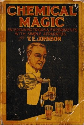 Cover of 'Chemical Magic' Booklet, 1920
