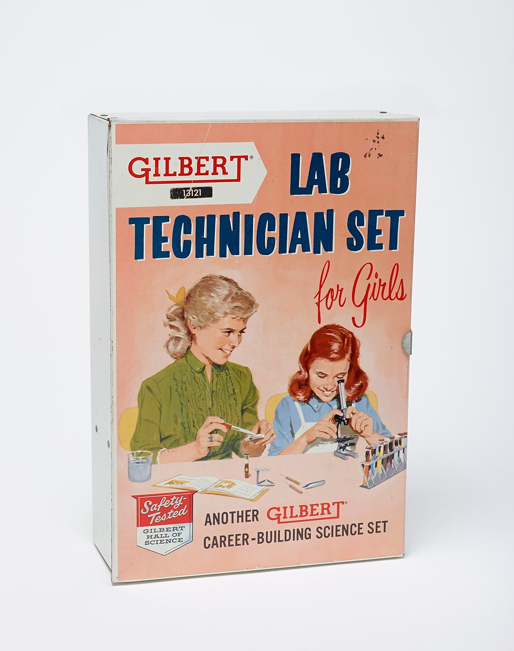 Gilbert Lab technician Set for Girls, 1958