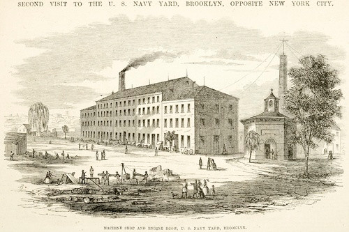 Early Illustration of the Machine Shop & Engine Room