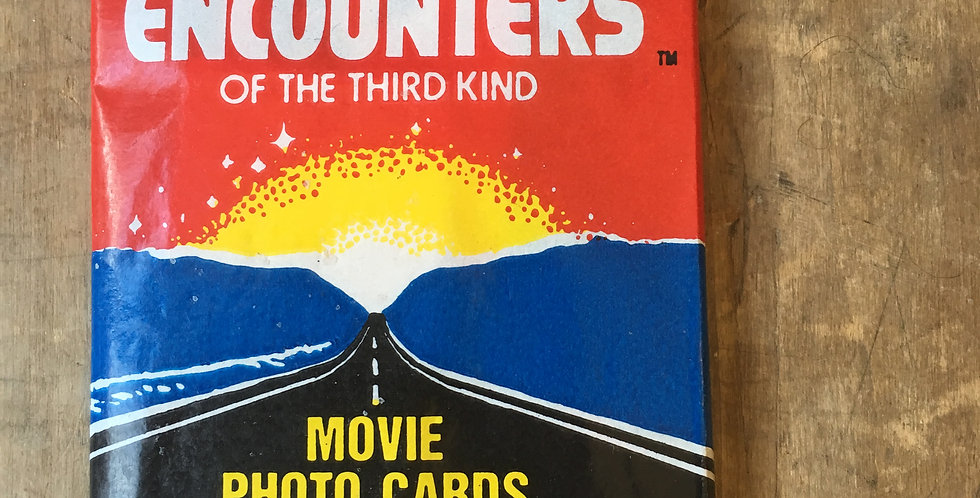 Close Encounters of the Third Kind (Cards & Bubble Gum)