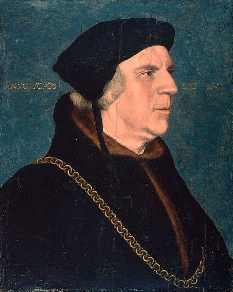 Portrait Of Sir William Butts By Hans Holbein The Younger