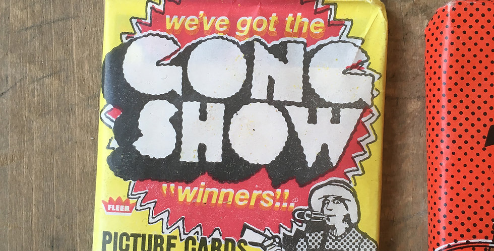 Gong Show Card Pack