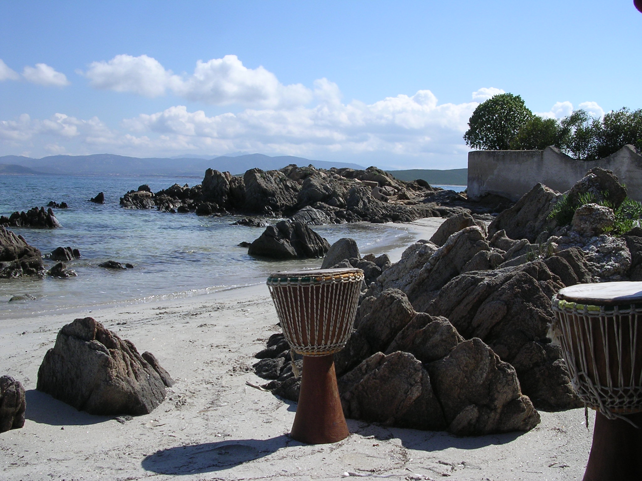 yoga and drumming sardinia