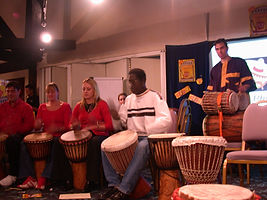 Drumming with Magatte Djieng & RhythmWorks