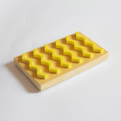 Seifenablage / Ocker-gelb