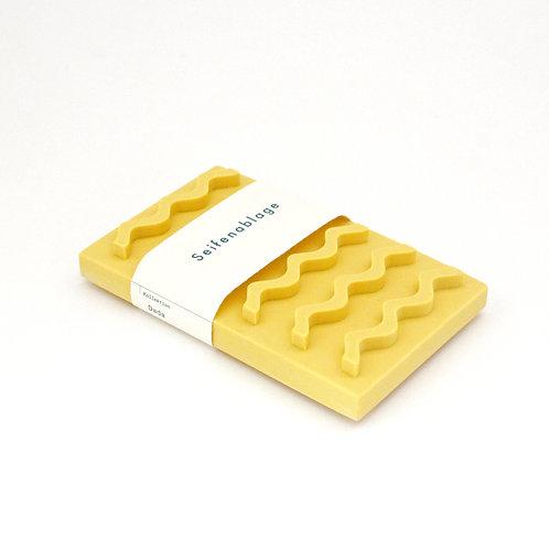 Seifenablage / Gelb