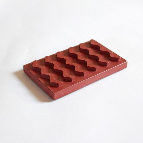 Seifenablage / Rot
