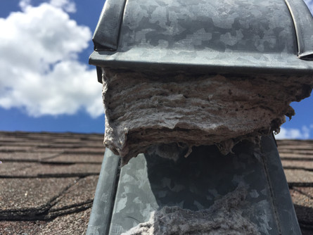 Dryer Vent Cleaning - Check the roof - Land O Lakes, FL