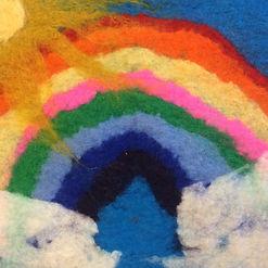 wet felted rainbow square.jpg