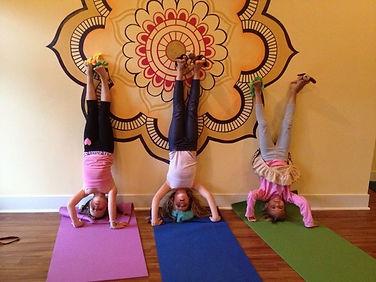 Drop in Thursday for kid's yoga at studi