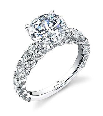 Classic Divine Engagemen Ring