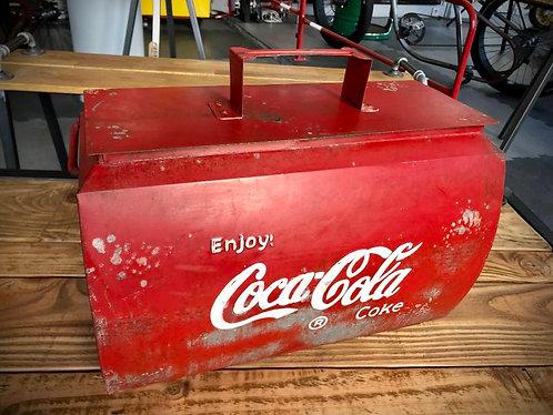Glacière / malle de rangement Coca Cola