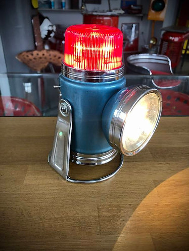 "Lampe lanterne PIFCO 'RED DOME"" 1950-60"