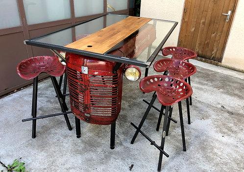 Table capot tracteur MC CORMICK 6 Places