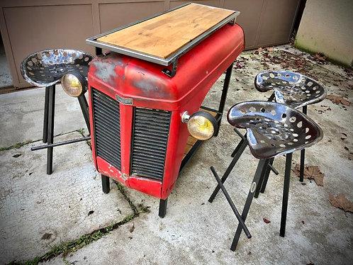 Table bar capot tracteur MASSEY FERGUSSON