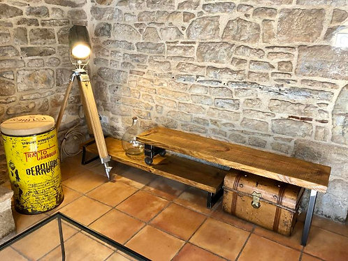 Table basse rangements /TV -extensible-
