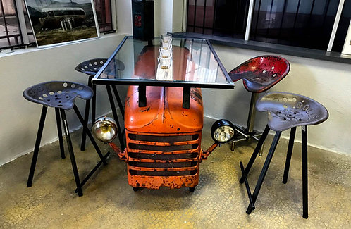 Table capot tracteur RENAULT D30