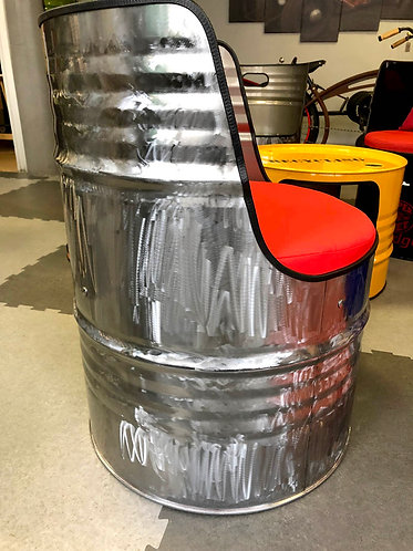 Siège Fauteuil baril bidon huile 200L