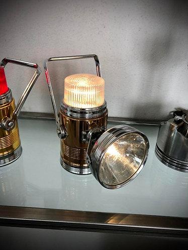 """Lampe lanterne PIFCO 'WHITE DOME"""" 1960-70"""