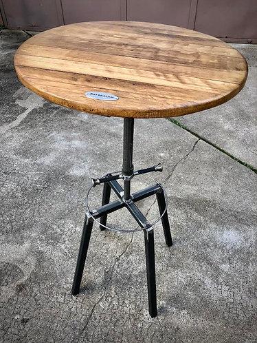 Table bar / mange debout réglable industriel