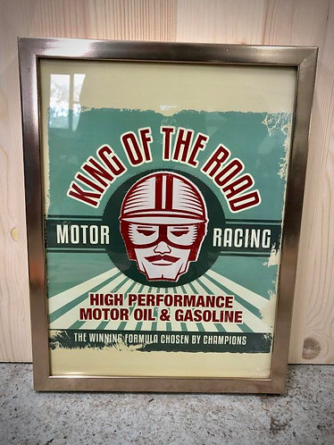 """Cadre """"King of the road"""""""