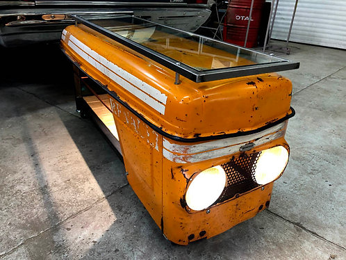 Table basse capot tracteur RENAULT 90