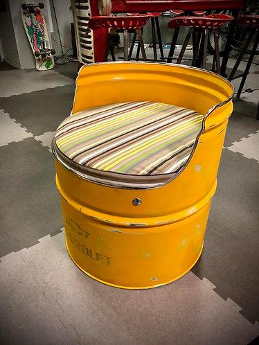 Fauteuil baril bidon huile 200L court