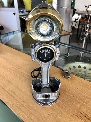 Lampe bureau piston-bielle N°10