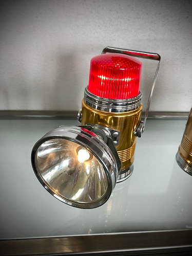 "Lampe lanterne PIFCO 'RED DOME"" 1960-70"