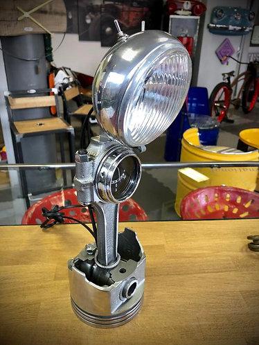 Lampe bureau piston-bielle N°14
