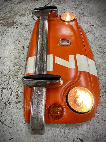 Calandre FIAT 500 avec éclairage