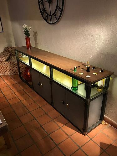 Buffet bar éclairage LED