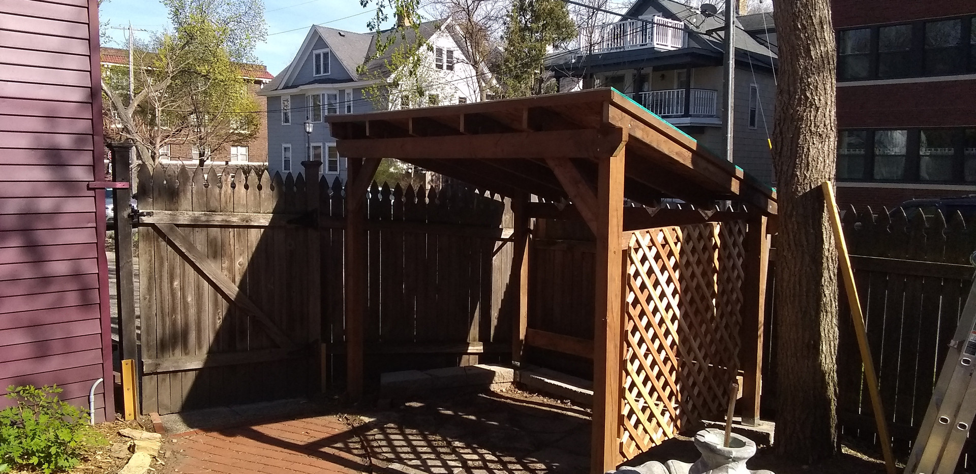 Open Sided Shed