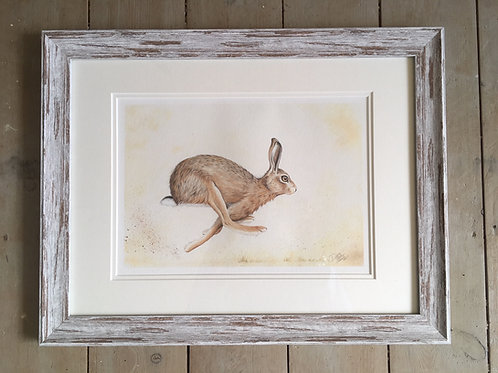 Hartley Hare framed limited edition print