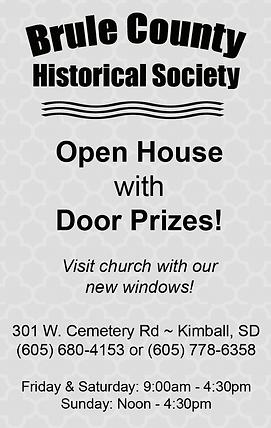 Brule County Historical Society - Kimbal