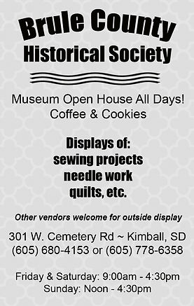 Brule County Historical Society - Kimbal