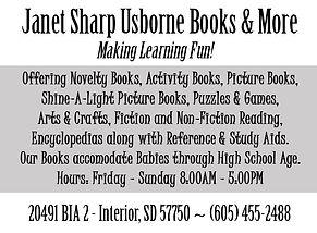 Janet Sharpe Usborne Books - Kadoka copy
