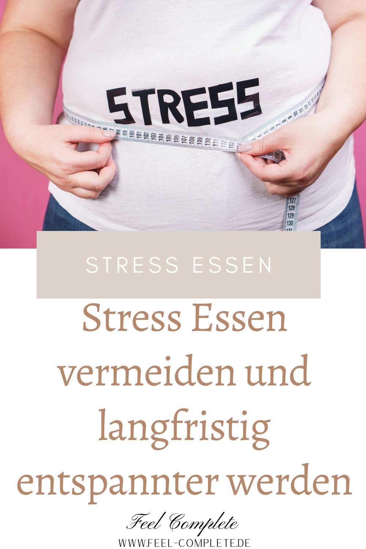 Stress führt zu Übergewicht