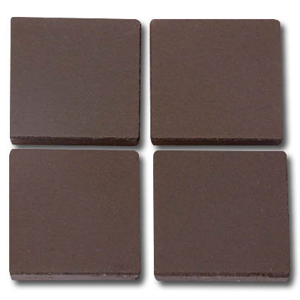 661 Dark brown 24mm - a sheet of 49 ceramic tiles