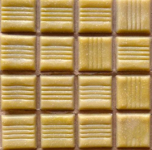 Special offer -20mm banana beige glass tile - large sheet