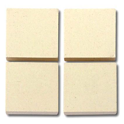 655 White 24mm - a sheet of 49 ceramic tiles