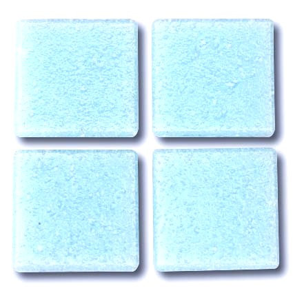 550 Baby blue 20mm glass mosaic tile