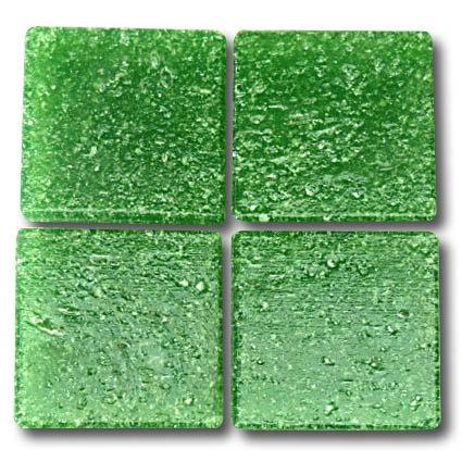 542 Grass green 20mm glass mosaic tile