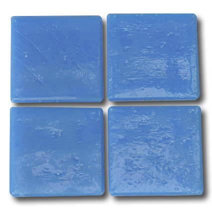 556 Dodger blue 20mm glass mosaic tile
