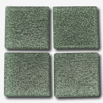 539 Deep sea green 20mm glass mosaic tile