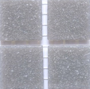 505a Storm Grey 20mm glass mosaic tile