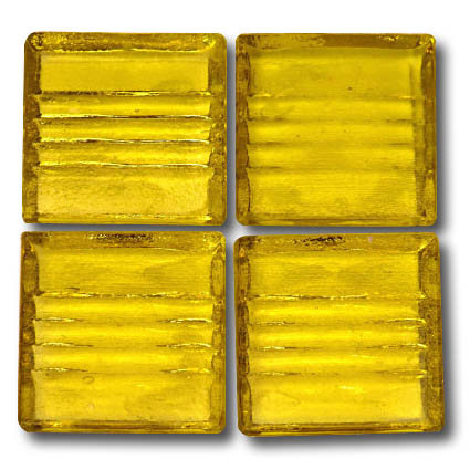 573 Transparent yellow 20mm glass mosaic tile