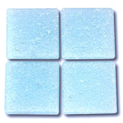 551 Ice blue 20mm glass mosaic tile