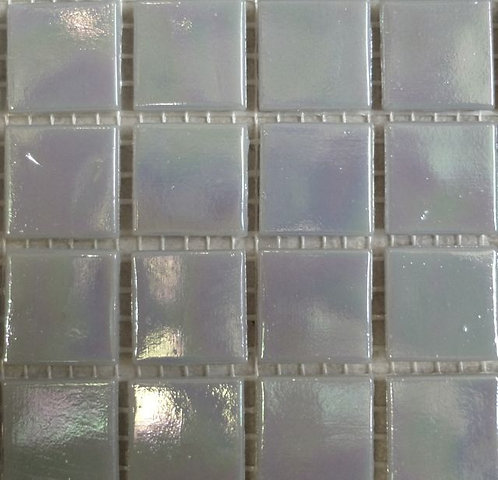 Special offer - Smoky grey iridescent - large sheet