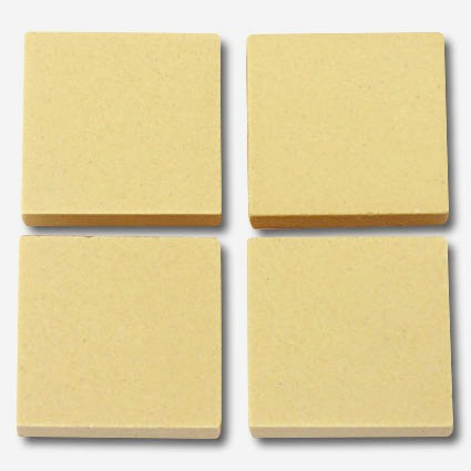 621a Pale yellow 20mm ceramic tile